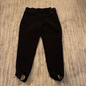 Vintage obermeyer ski pants 10S black